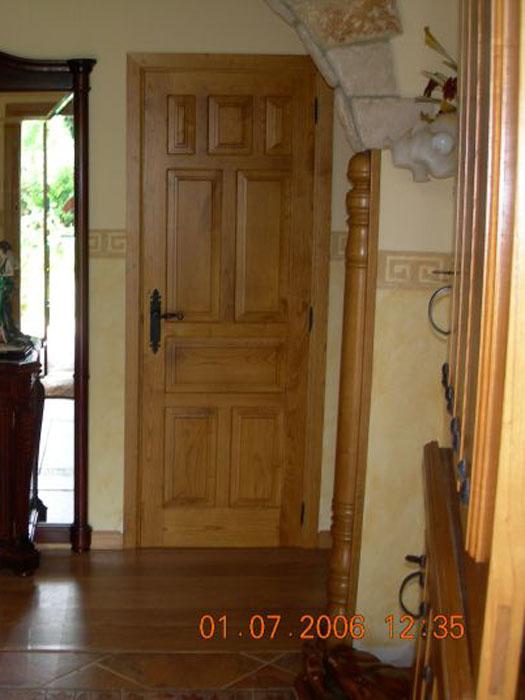 Puerta castellana carpinter a ebanister a bra a for Puerta castellana pino