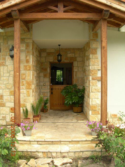 Puerta r stica carpinter a ebanister a bra a - Puerta rustica exterior ...